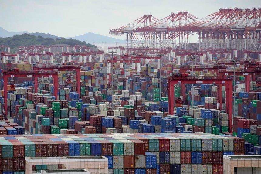 """Chuỗi cung ứng toàn cầu đang """"gục ngã"""" trước biến thể delta? - Ảnh 1."""