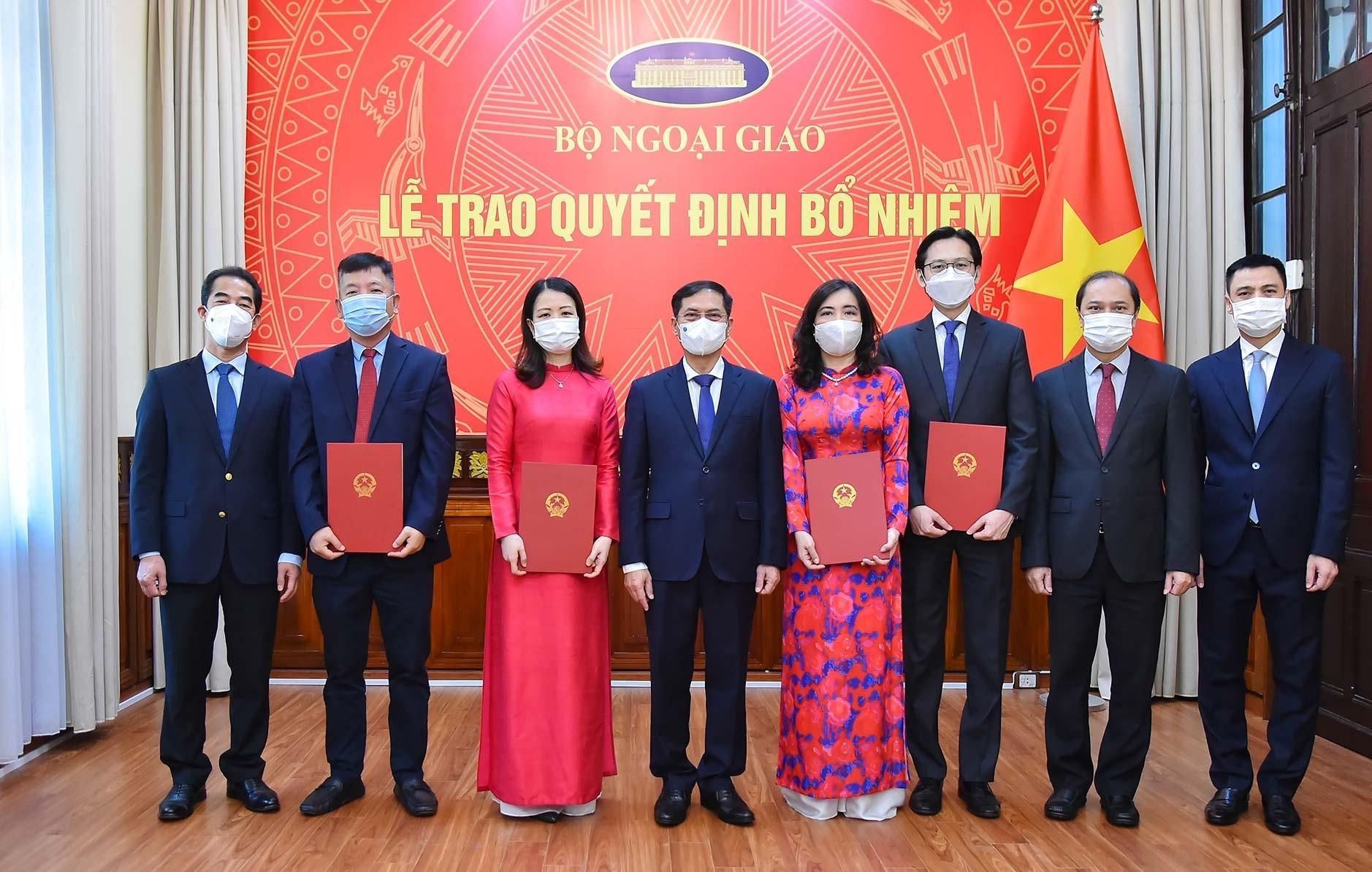 Người phát ngôn Bộ Ngoại giao Lê Thị Thu Hằng được bổ nhiệm thêm chức vụ mới - Ảnh 1.