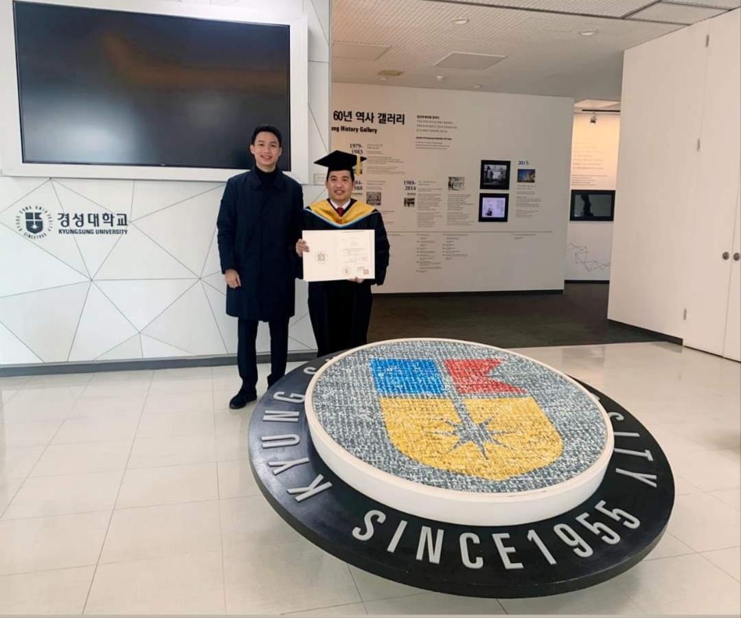 Từ á khoa Học viện Nông nghiệp Việt Nam đến đại học danh giá Hàn Quốc - Ảnh 3.