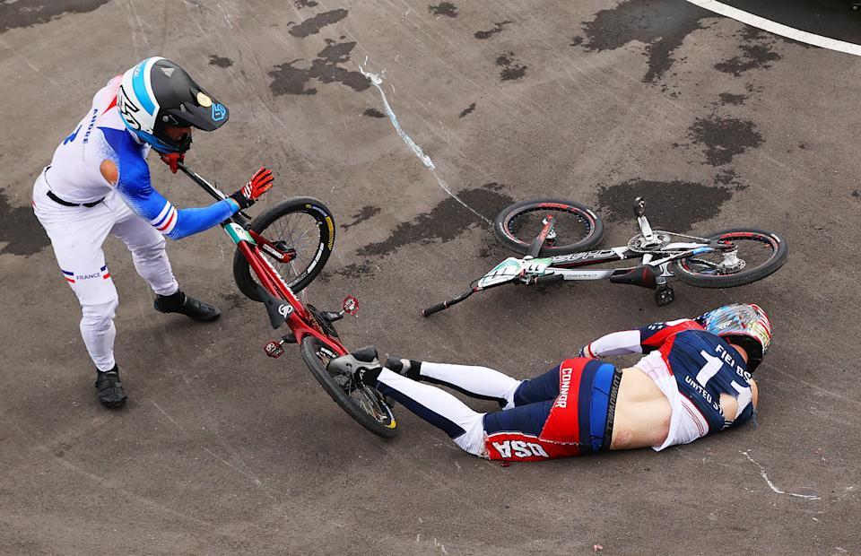 Nhà vô địch Olympic gặp tai nạn, bị xuất huyết não, gãy xương sườn, dập phổi - Ảnh 4.