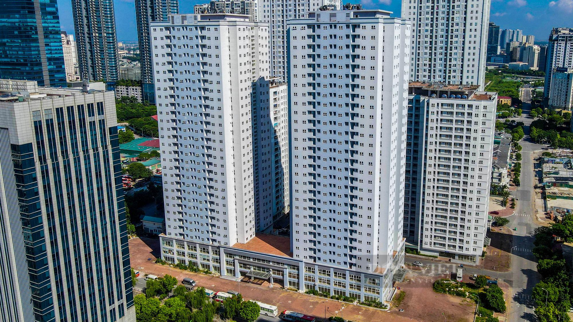 Điểm qua các khu nhà tái định cư được trưng dụng là bệnh viện dã chiến tại Hà Nội - Ảnh 5.