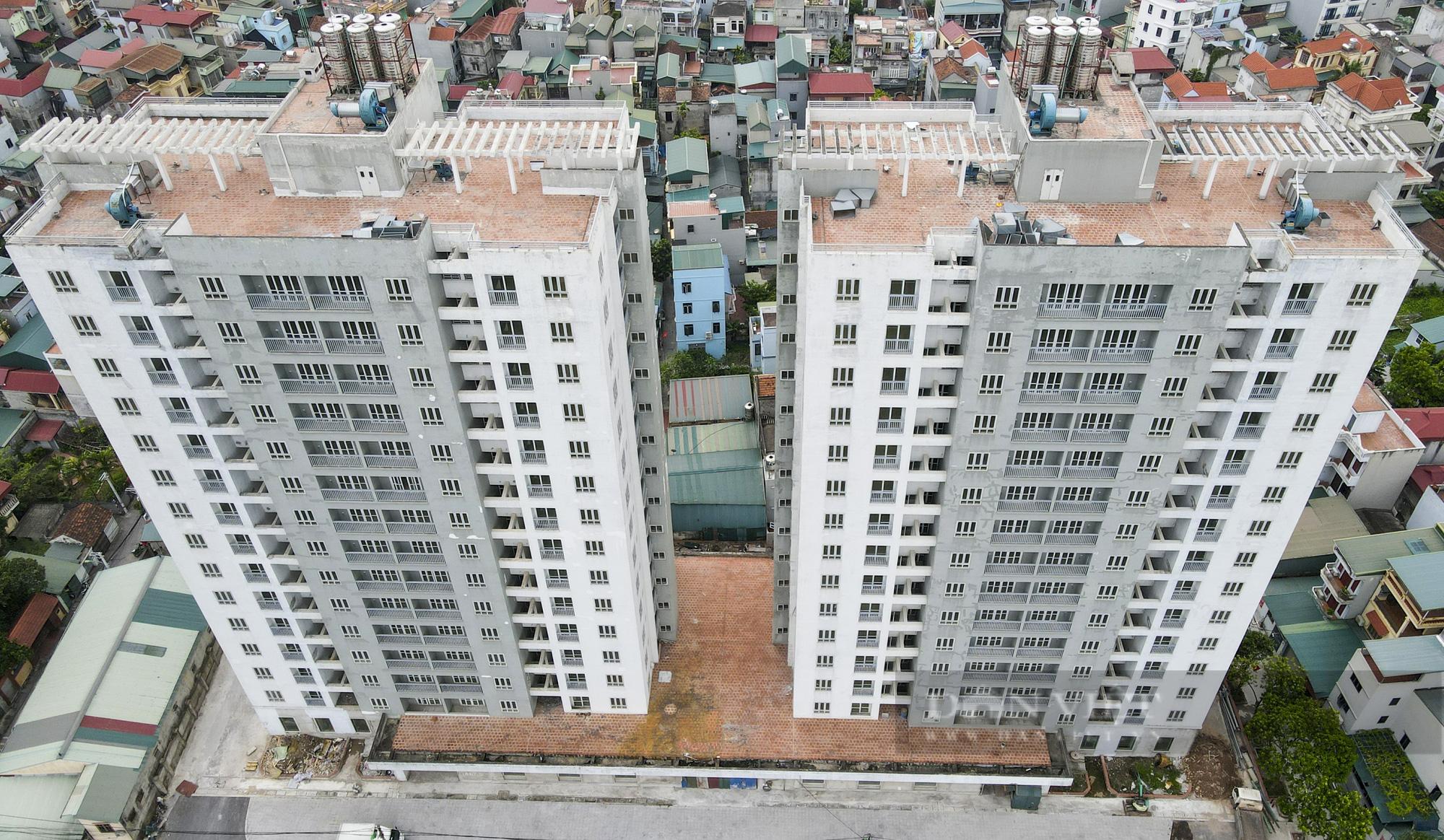 Điểm qua các khu nhà tái định cư được trưng dụng là bệnh viện dã chiến tại Hà Nội - Ảnh 13.