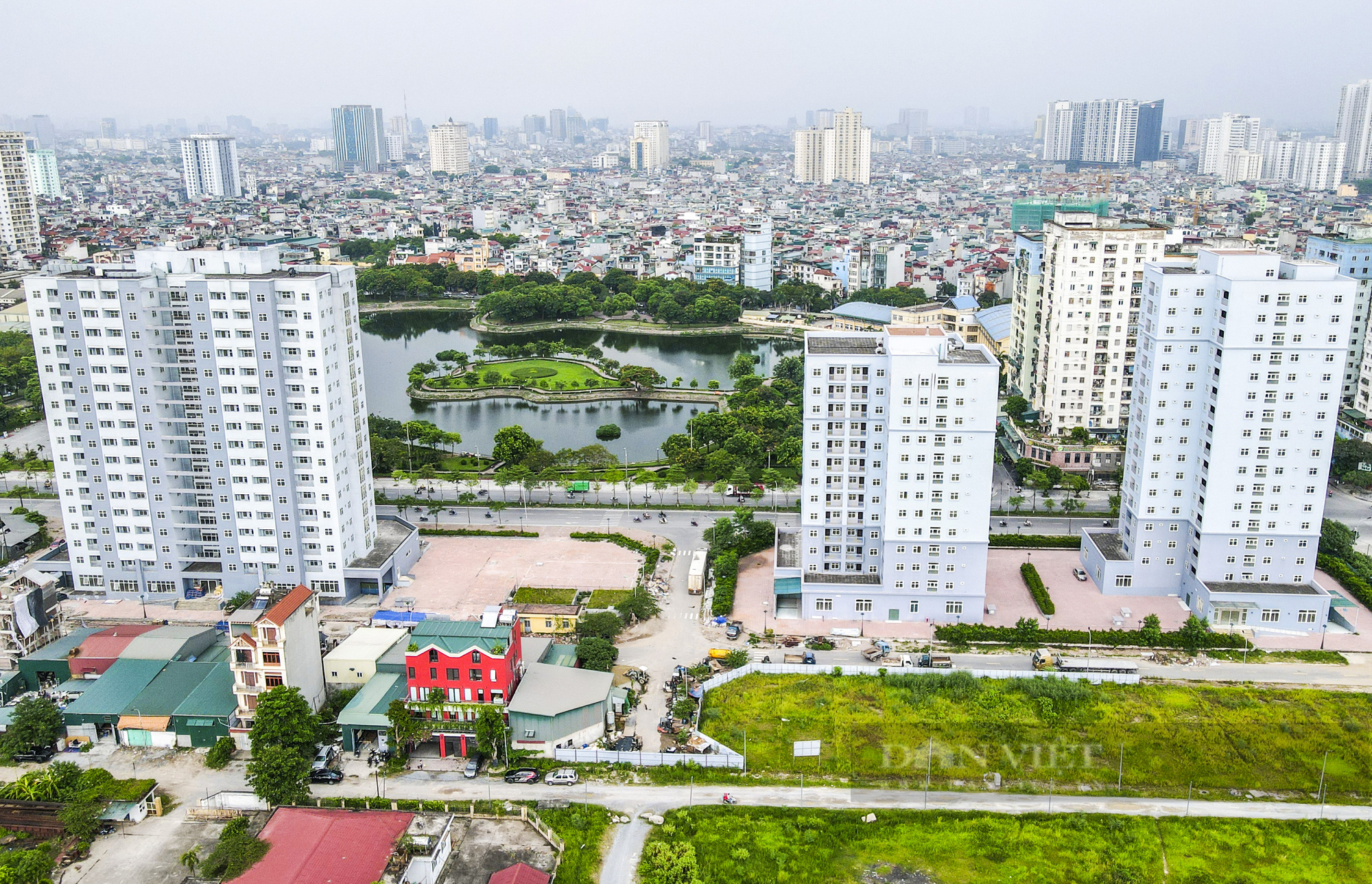 Điểm qua các khu nhà tái định cư được trưng dụng là bệnh viện dã chiến tại Hà Nội - Ảnh 14.
