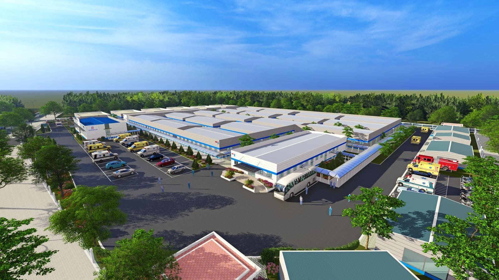 Thành lập Bệnh viện điều trị Covid-19 tại Hà Nội - Ảnh 1.