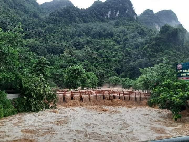 Thái Nguyên: Mưa lớn gây ngập úng cục bộ tại nhiều địa phương, nhiều diện tích hoa màu bị thiệt hại - Ảnh 3.
