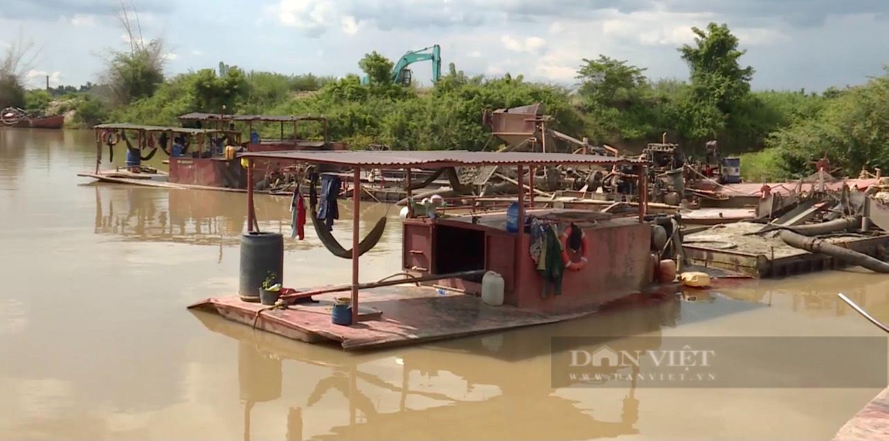 base64 1629701923807515004061 Đắk Lắk: Khởi tố Giám đốc HTX vì khai thác cát trái phép trên dòng sông Krông Nô