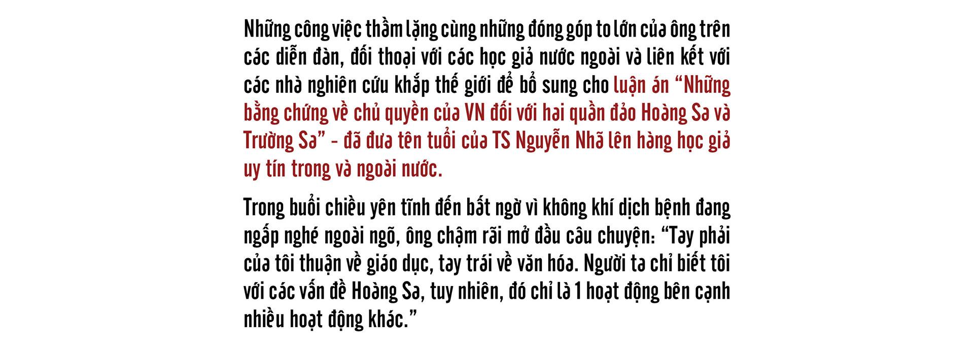 Tiến sĩ sử học Nguyễn Nhã: Muốn bảo vệ chủ quyền, không gì hay hơn là trở thành cường quốc biển  - Ảnh 1.