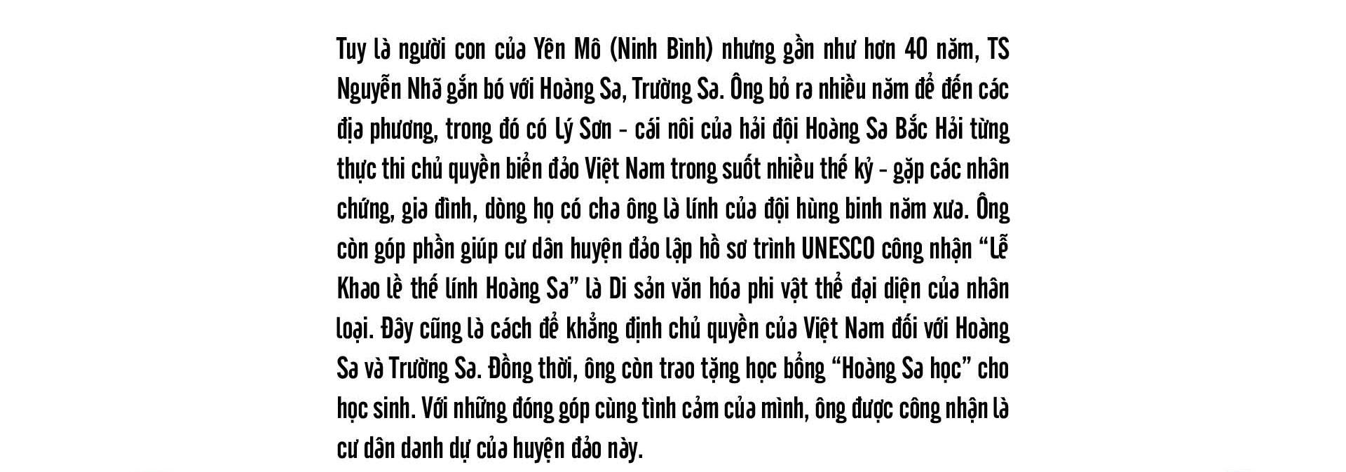 Tiến sĩ sử học Nguyễn Nhã: Muốn bảo vệ chủ quyền, không gì hay hơn là trở thành cường quốc biển  - Ảnh 8.