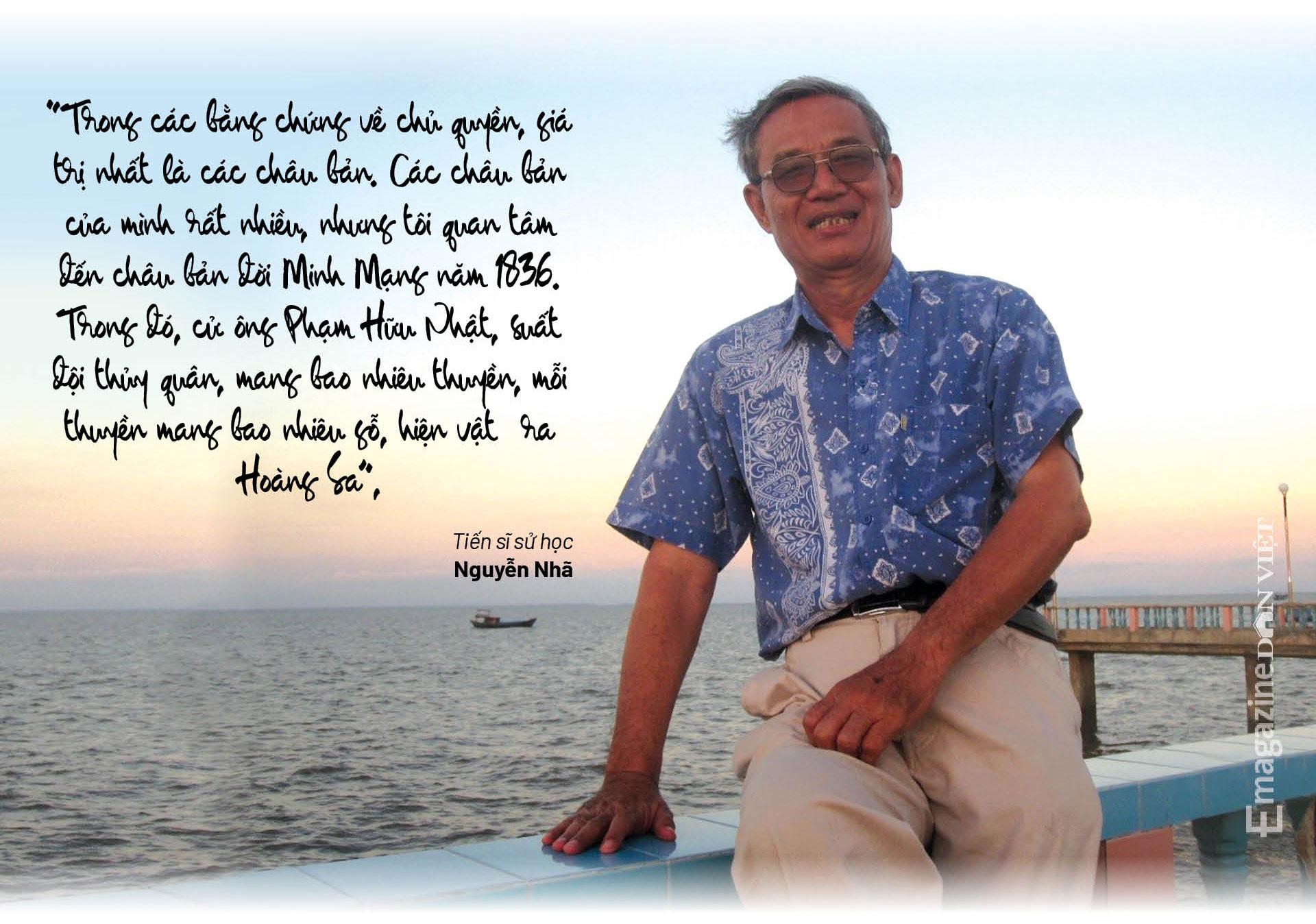 Tiến sĩ sử học Nguyễn Nhã: Muốn bảo vệ chủ quyền, không gì hay hơn là trở thành cường quốc biển  - Ảnh 10.