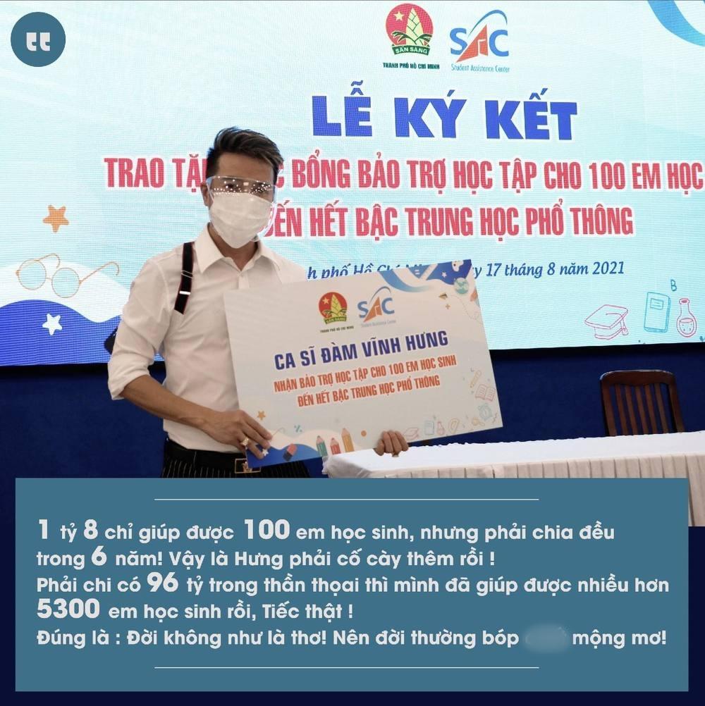 Hot sao Việt (25/8): Đàm Vĩnh Hưng tiếp tục nhắc đến 96 tỷ đồng giữa vụ ồn ào tiền từ thiện - Ảnh 1.
