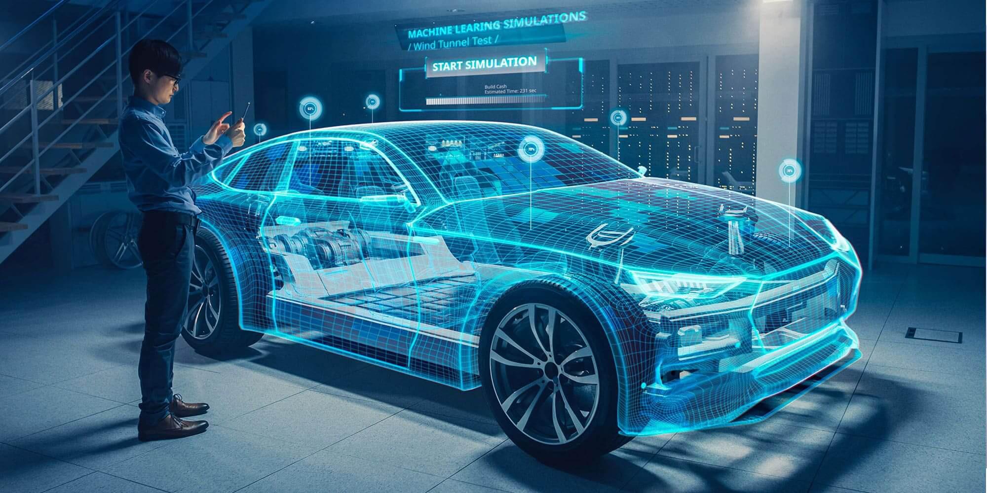 Các công ty như Huawei coi ô tô như một cơ hội mới và đang gấp rút phát triển hệ sinh thái công nghệ của riêng mình sau khi các lệnh trừng phạt của Mỹ. Ảnh: @AFP.