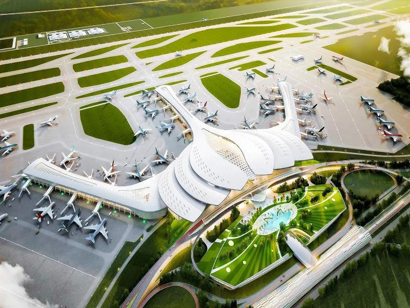 Đẩy nhanh tiến độ bối thường tái định cư dự án sân bay Long Thành - Ảnh 1.