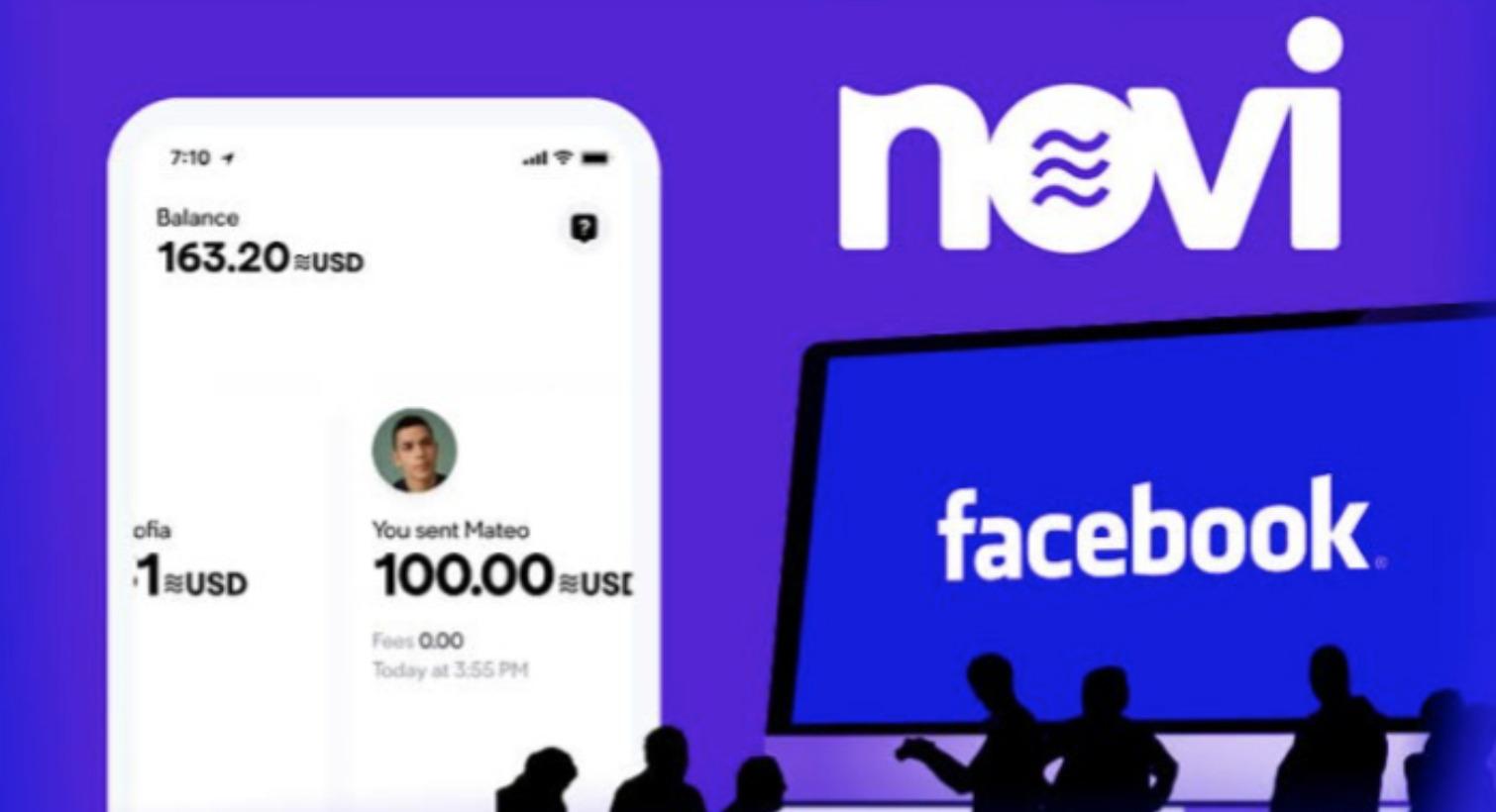 Ví điện tử Novi là một phần trong kế hoạch đầy tham vọng của Facebook vào lĩnh vực tiền điện tử. Ảnh: @AFP.