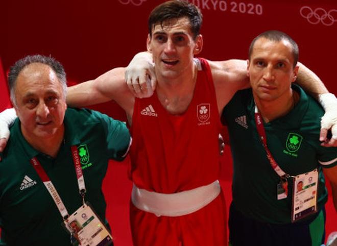 Olympic 2020: Ăn mừng quá đà, võ sĩ quyền Anh mất cơ hội giành HC - Ảnh 2.