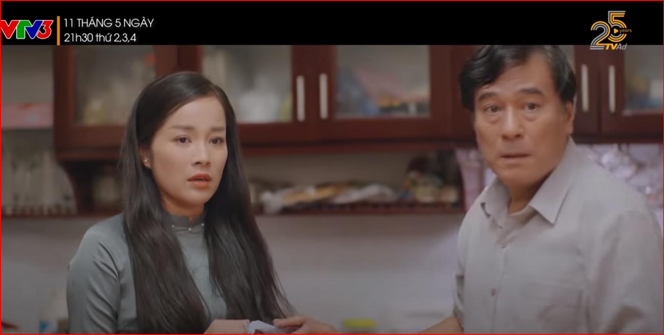 Phim hot 11 tháng 5 ngày tập 3: Nhi phản đối bố quan tâm tới Thu - Ảnh 3.