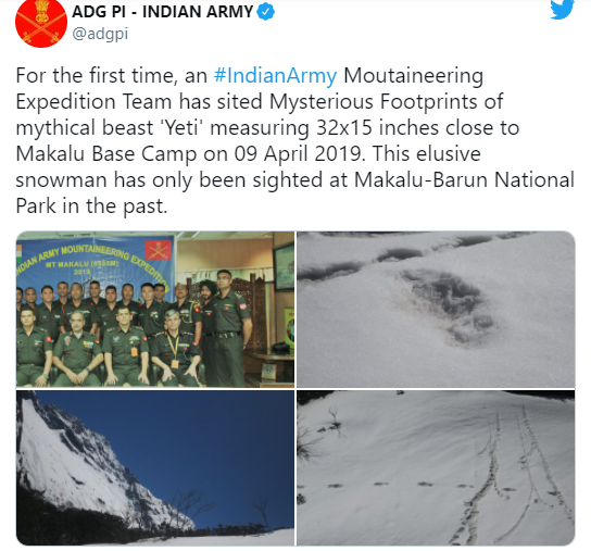 Quân đội Ấn Độ tìm thấy bằng chứng về quái vật huyền thoại Yeti - Ảnh 2.