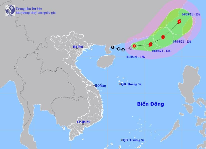 Áp thấp nhiệt đới trên Biển Đông mạnh lên thành bão, miền Bắc và miền Trung chịu nắng nóng diện rộng - Ảnh 1.