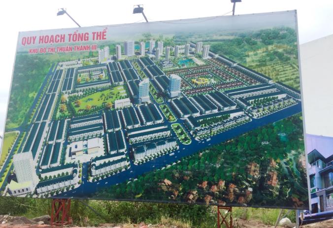 Công ty Trung Quý vừa được giao đất làm khu đô thị phục vụ khu công nghiệp Thuận Thành 3 - Ảnh 1.