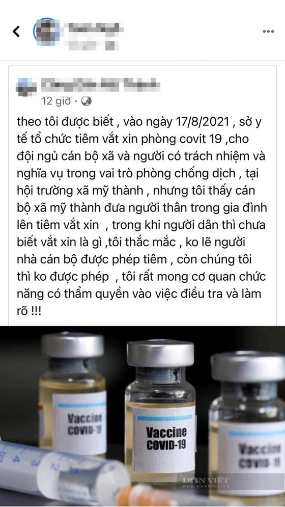 Kỷ luật Chủ tịch xã mời 20 người nhà cán bộ tiêm vaccine sai quy định - Ảnh 1.