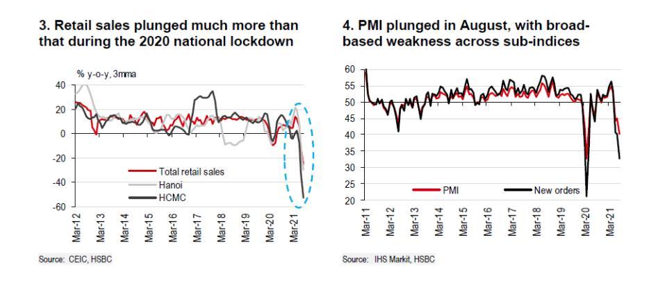 HSBC: Bức tranh tổn thất bắt đầu rõ nét nhưng triển vọng kinh tế Việt Nam trong dài hạn không lu mờ - Ảnh 2.