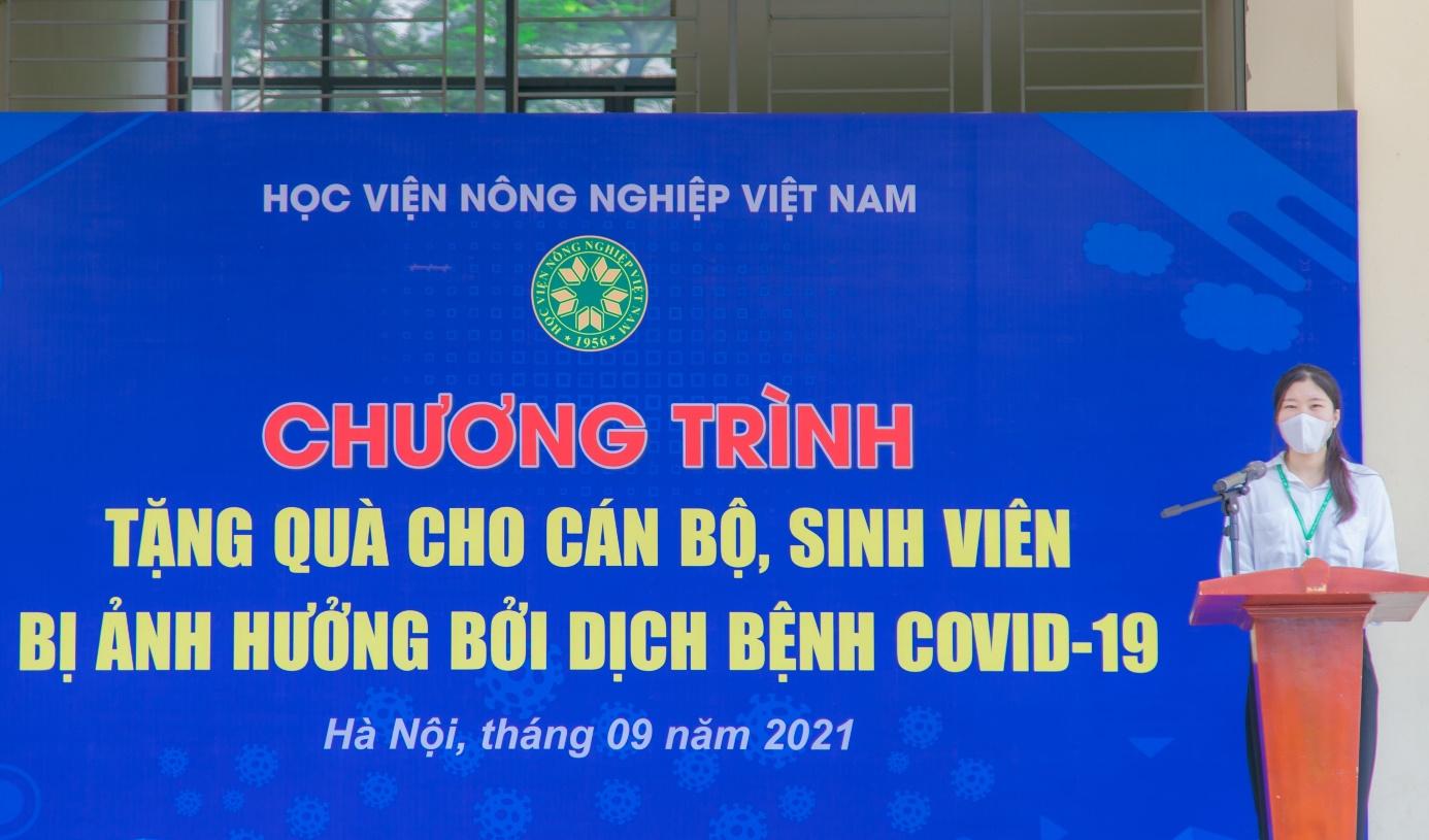 Học viện Nông nghiệp Việt Nam đồng hành cùng cán bộ, viên chức, sinh viên vượt qua dịch bệnh Covid-19 - Ảnh 2.