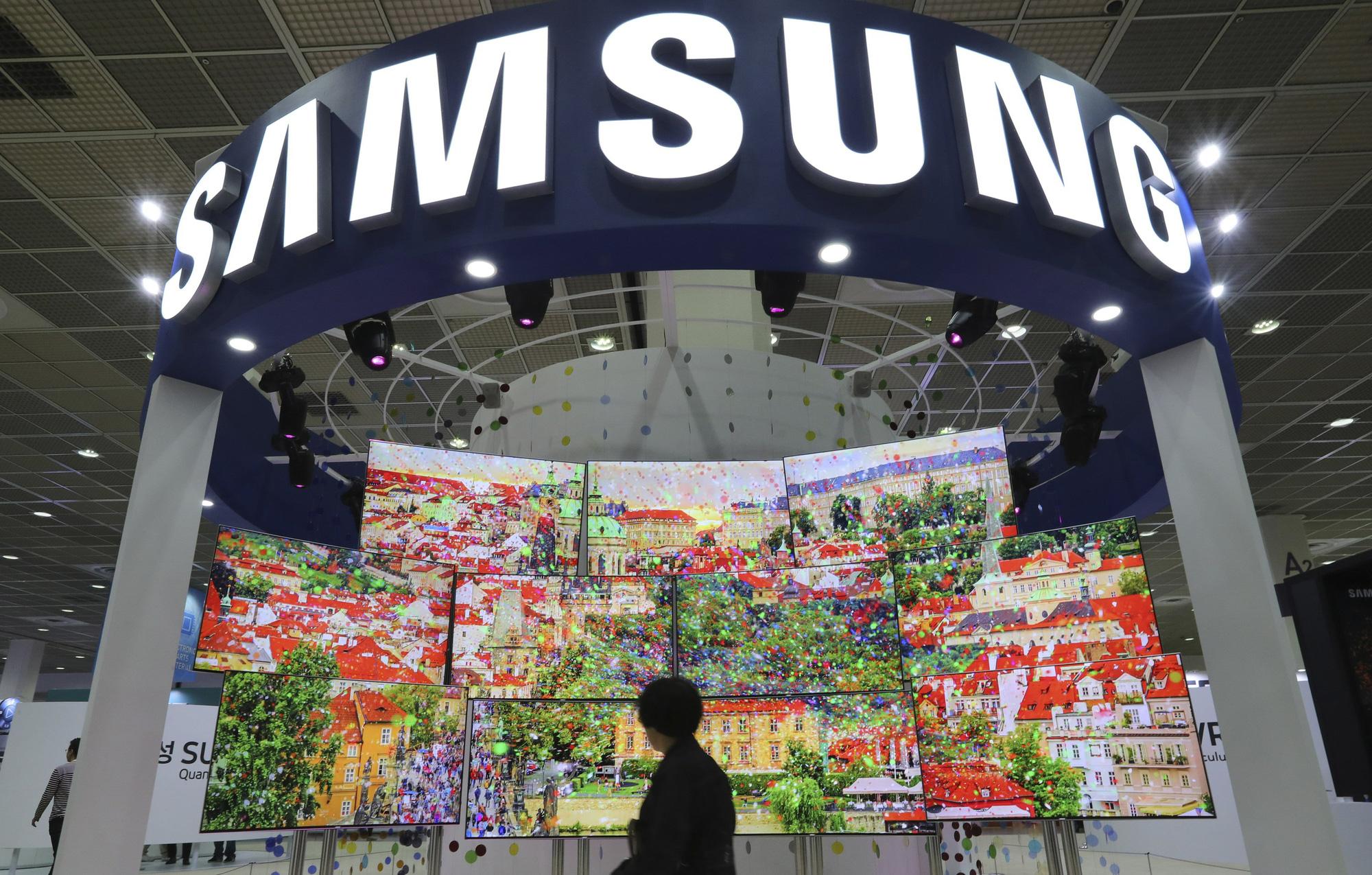 Khoản đầu tư đến năm 2023 sẽ giúp củng cố vị thế toàn cầu của tập đoàn Samsung trong các ngành công nghiệp then chốt. Ảnh: @AFP.