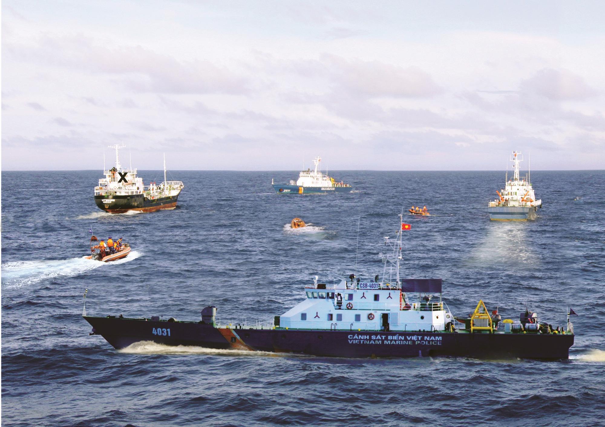 Phạm vi hoạt động và quyền hạn của Cảnh sát biển Việt Nam - Ảnh 2.