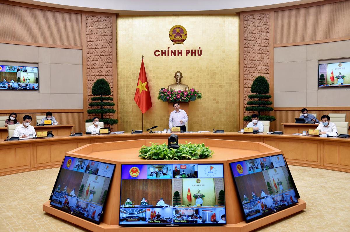 Trước Thủ tướng và Ban Chỉ đạo, Bí thư Tỉnh ủy thừa nhận còn những hạn chế trong phòng, chống dịch - Ảnh 3.
