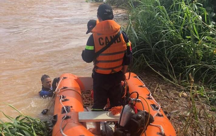 Lâm Đồng: Trắng đêm tìm kiếm nạn nhân bị nước cuốn mất tích trên sông Krông Nô - Ảnh 1.