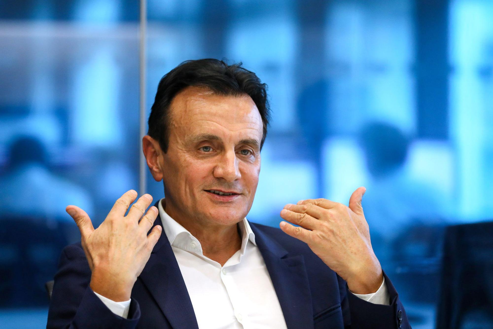 Ông Pascal Soriot, CEO của AstraZeneca - Ảnh: @AFP.