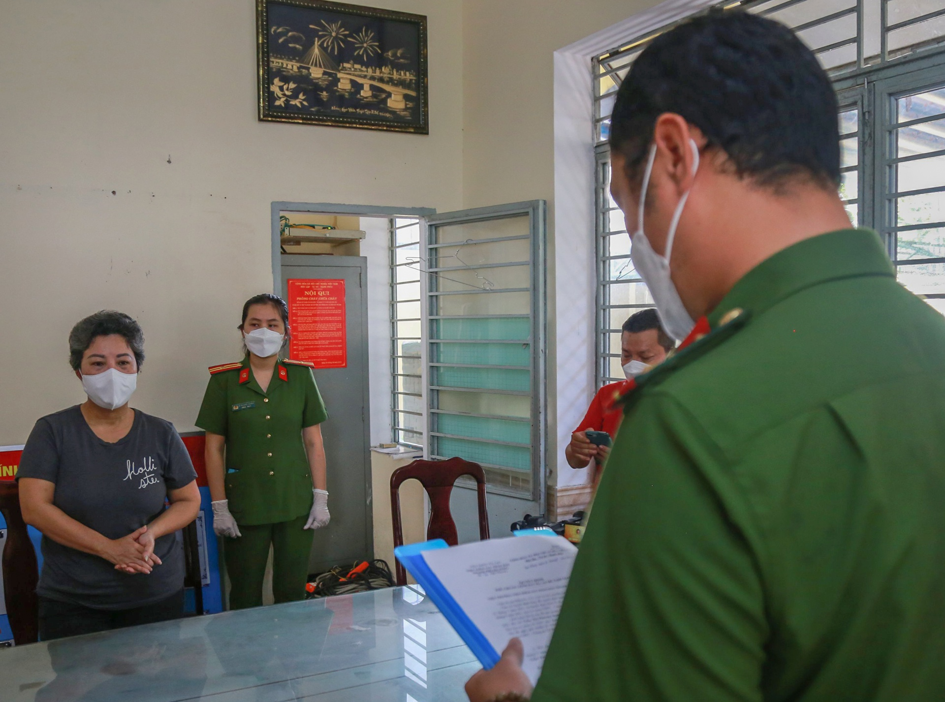 dung1 1631630830343 16316308319011299209058 Giả chữ ký Chủ tịch phường để bán đất cho Việt kiều