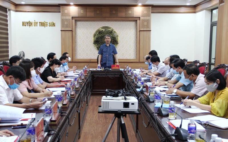 Đưa huyện Triệu Sơn đạt chuẩn nông thôn mới trong năm 2021 - Ảnh 4.