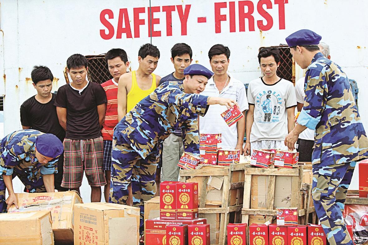 Nhiệm vụ, quyền hạn của Cảnh sát biển Việt Nam - Ảnh 2.