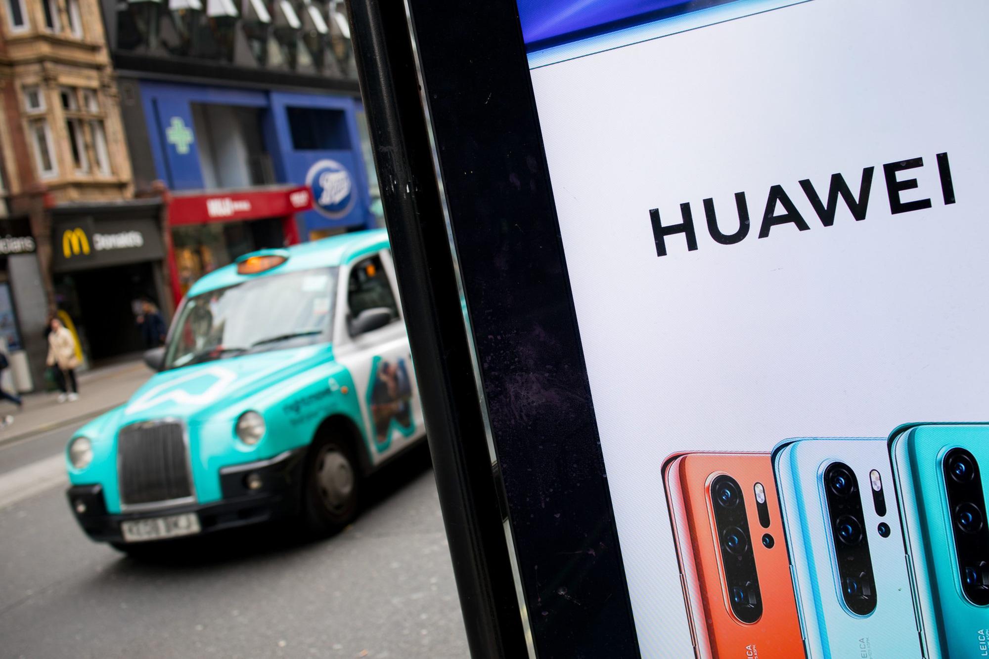 Huawei thực sự lao đao vì lệnh trừng phạt của Mỹ. Ảnh: @AFP.