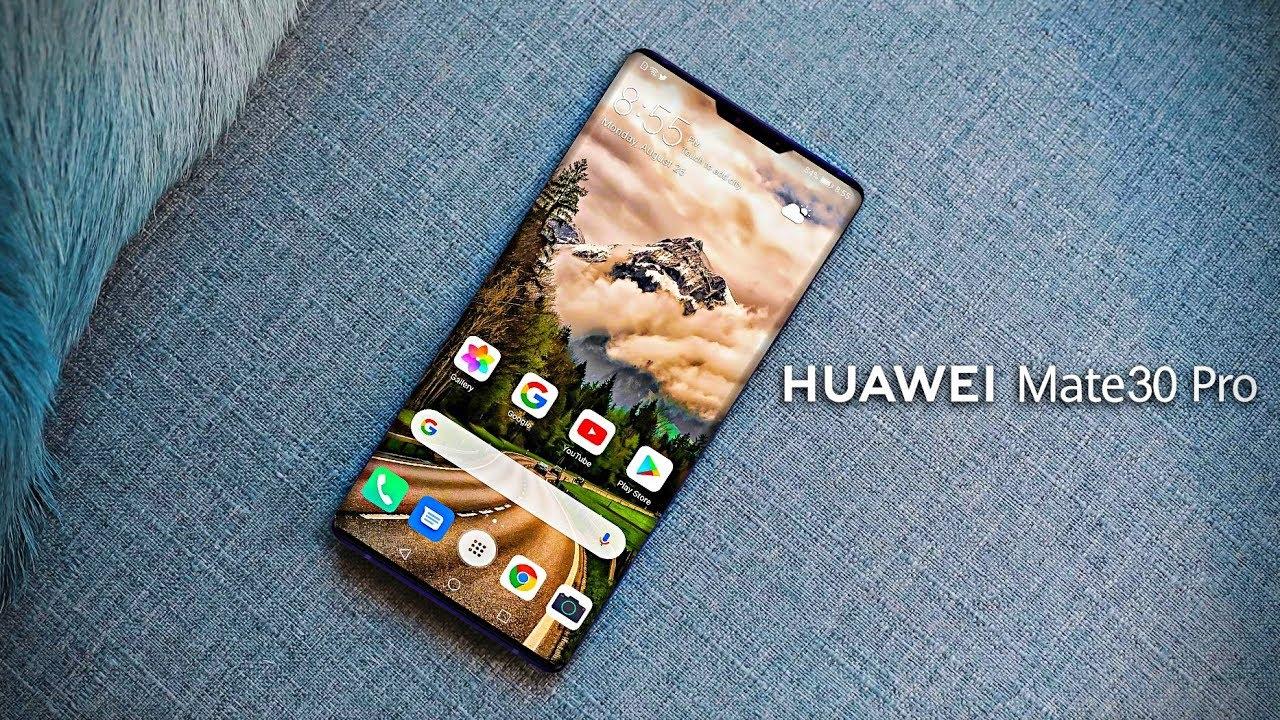 Huawei Mate 30 series ra mắt. Ảnh: @AFP.
