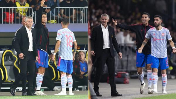 """Huyền thoại M.U chỉ trích Ronaldo vì thái độ """"coi thường"""" Solskjaer - Ảnh 1."""