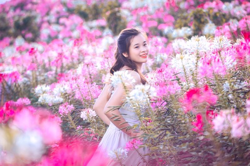 Tháng 9, Sa Pa đẹp nao lòng, ruộng bậc thang chuyển màu kỳ diệu, những triền hoa rực rỡ sắc màu - Ảnh 9.