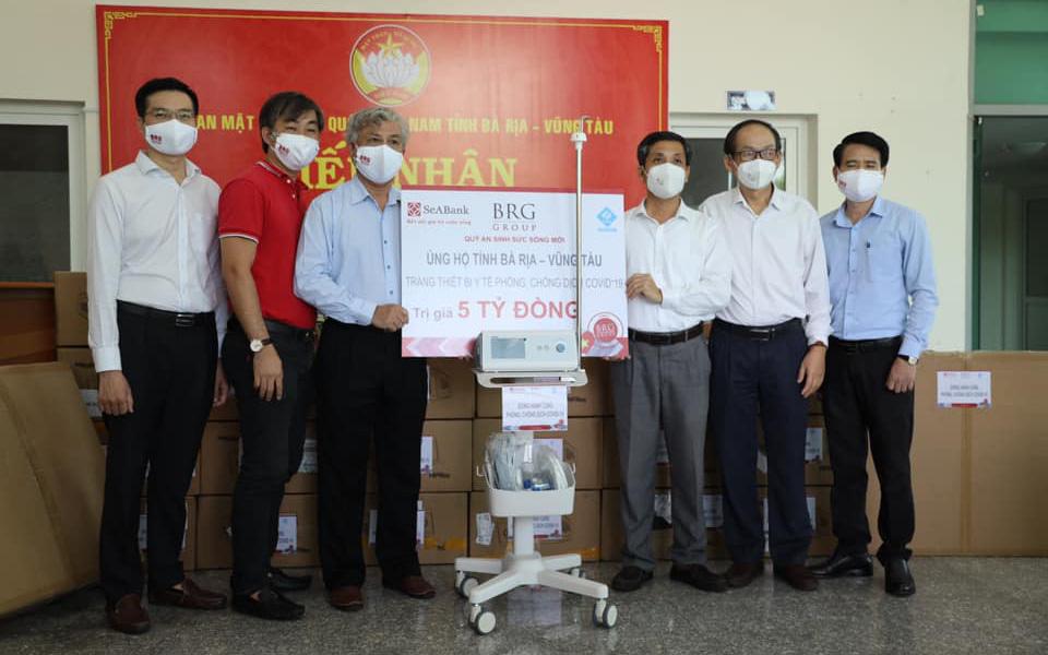 SeABank và BRG ủng hộ 18 tỷ đồng cho Huế, Đà Nẵng, Bà Rịa - Vũng Tàu phòng chống dịch