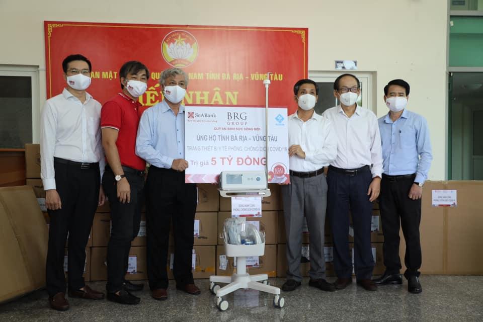 SeABank và BRG ủng hộ 18 tỷ đồng cho Huế, Đà Nẵng, Bà Rịa - Vũng Tàu phòng chống dịch - Ảnh 1.