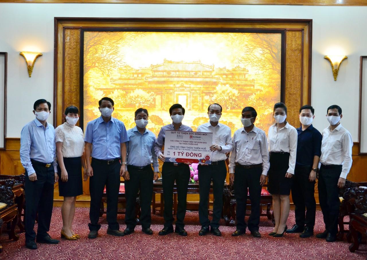 SeABank và BRG ủng hộ 18 tỷ đồng cho Huế, Đà Nẵng, Bà Rịa - Vũng Tàu phòng chống dịch - Ảnh 2.