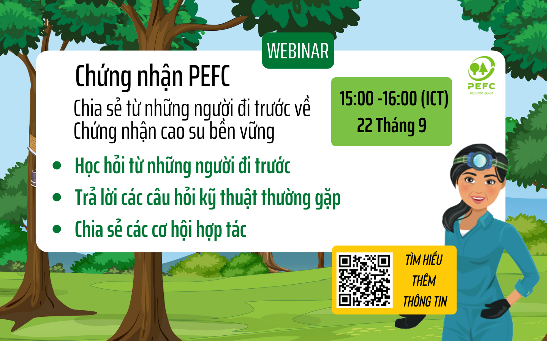 54.500ha cao su Việt Nam đã được cấp chứng chỉ quản lý rừng bền vững VFCS/PEFC-FM
