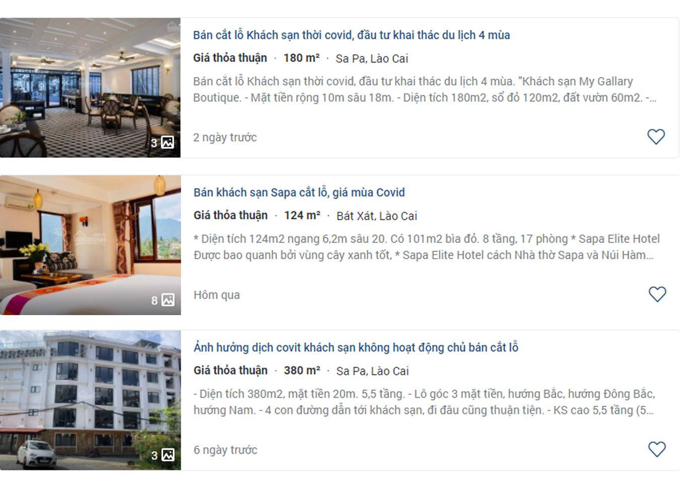 Chủ khách sạn ở Sa Pa muốn bán tháo, cắt lỗ nhanh vài tỷ đồng - Ảnh 1.