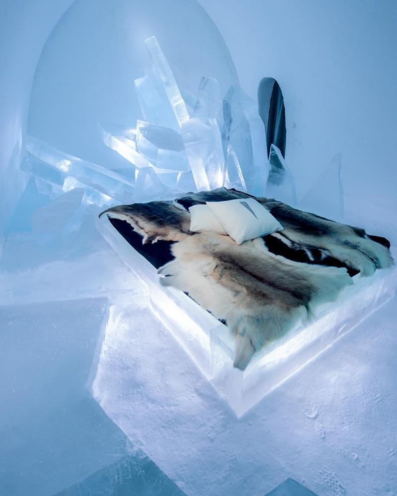 Khách sạn băng vĩnh cửu, mới nhìn đã lạnh sống lưng - Ảnh 8.