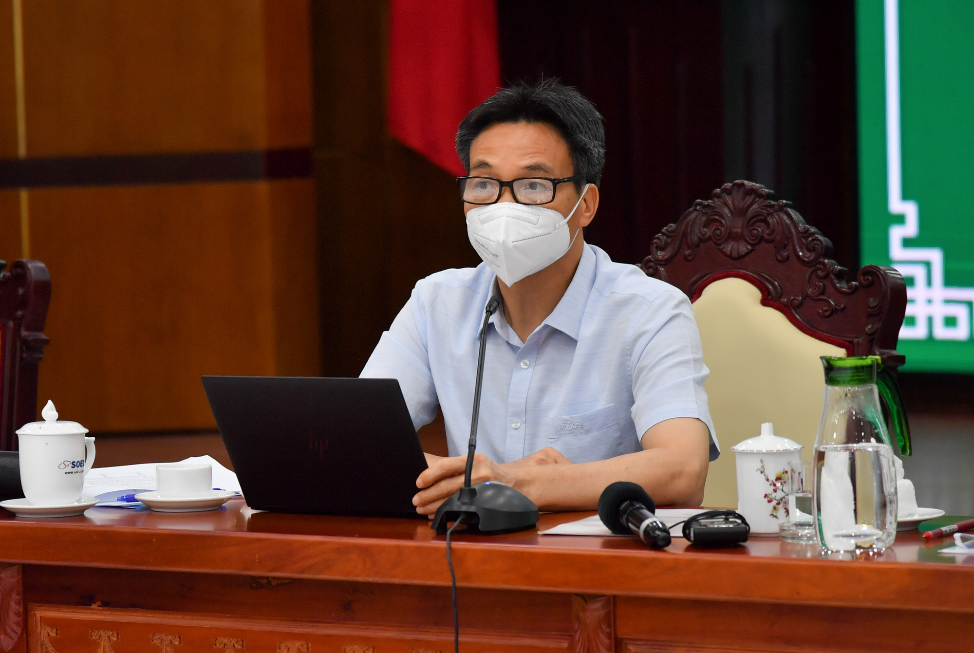 Phó Thủ tướng Vũ Đức Đam: Kiên Giang cần làm hết vùng đỏ nhanh nhất có thể - Ảnh 2.
