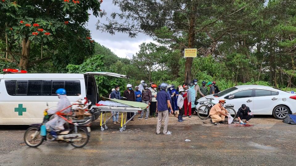 Lâm Đồng: Xác định được tài xế gây tai nạn khiến cháu bé 12 tuổi tử vong - Ảnh 1.