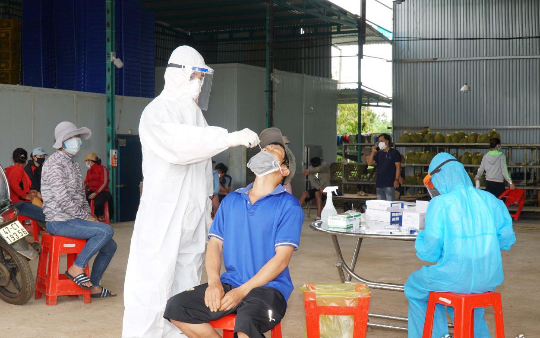 Đắk Lắk: Thêm 44 trường hợp dương tính với SARS-CoV-2 ngoài cộng đồng tại thị xã Buôn Hồ