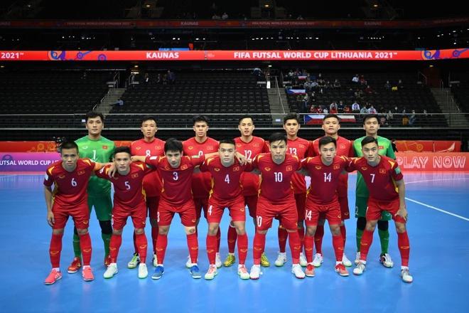 """Hình ảnh những """"người hùng"""" tuyển futsal Việt Nam cầm hòa đội bóng hạng 16 thế giới - Ảnh 1."""