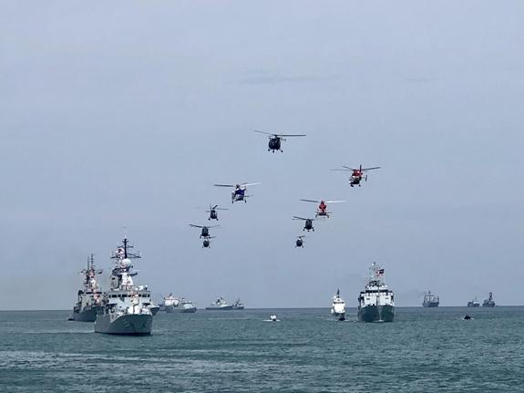 """Dàn """"chim sắt"""" của lực lượng Không quân Hải quân Việt Nam - Ảnh 2."""