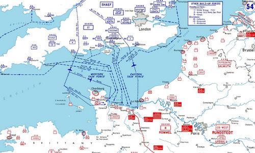 2 triệu lính Đồng minh đổ bộ lên bờ biển Normandy - Ảnh 1.