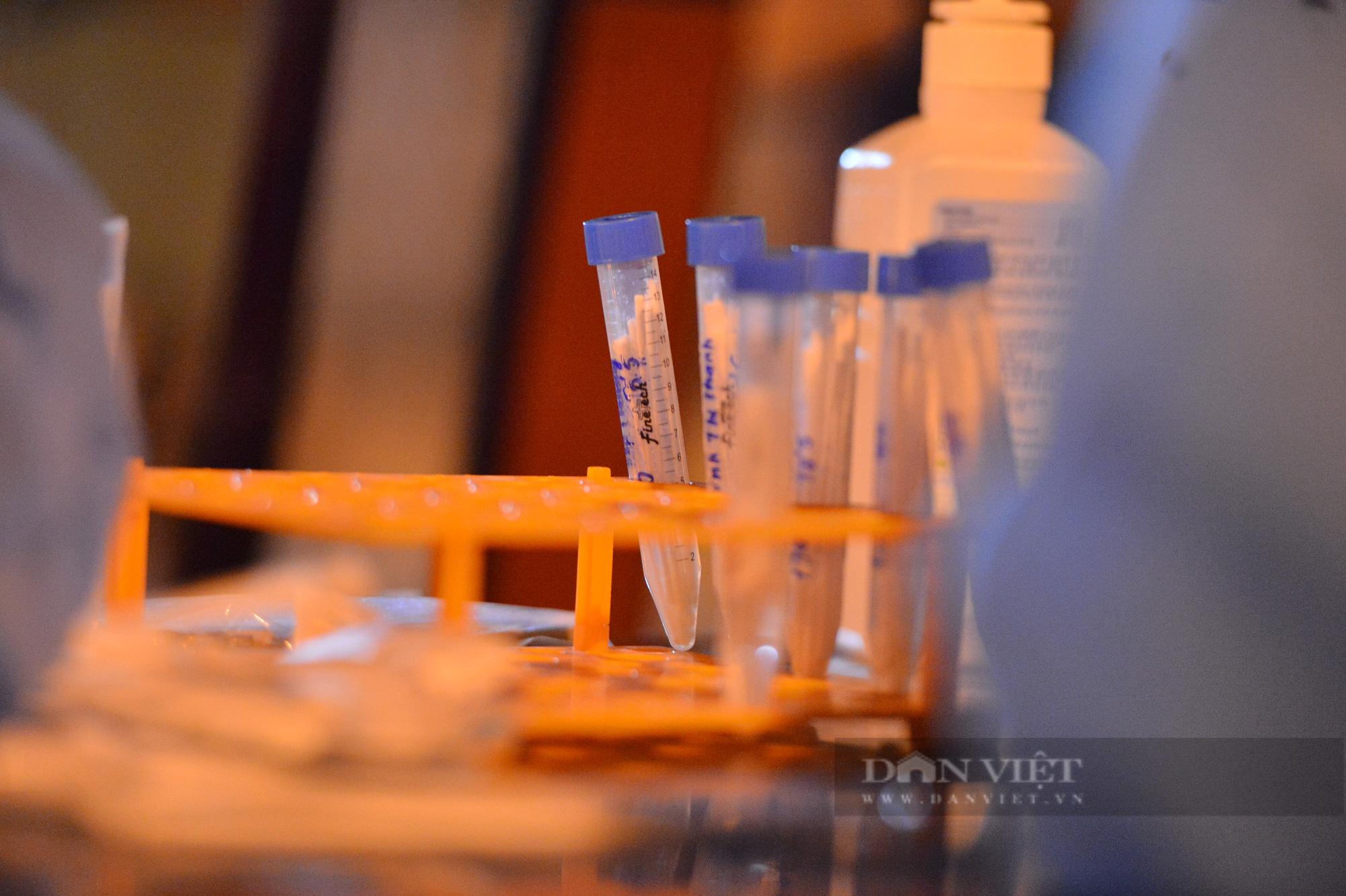 Thần tốc lấy 5.000 mẫu xét nghiệm trong đêm sau khi phát hiện 9 F0 tại quận Long Biên - Ảnh 7.
